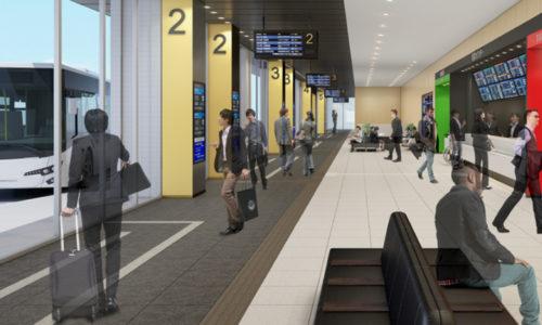 大型バスターミナル